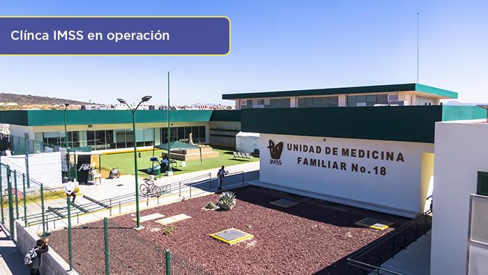 Clínica del IMSS, Los Héroes Tizayuca