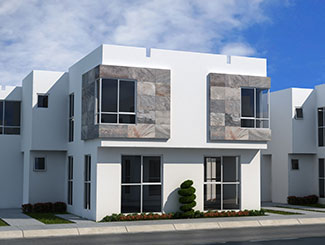 Casa modelo Eucalipto, Los Héroes Tizayuca en Hidalgo